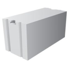 Пазогребневый газосиликатный блок